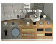 FOURNITURE FLOOR PROTECTION SHOWBOARD